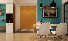 简约 北欧 餐厅图片来自知贤整体家装在新高苑二期的分享