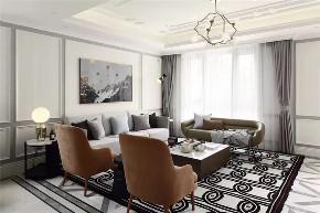 欧式 简约 三居 客厅图片来自知贤整体家装在叶城三街坊的分享