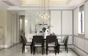 欧式 简约 三居 餐厅图片来自知贤整体家装在叶城三街坊的分享
