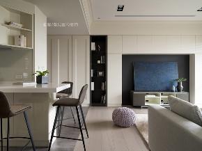 张馨 瀚观 室内设计 装修 装饰 餐厅图片来自张馨/瀚观室内装饰在小平数之黑白琴键的从容生活的分享
