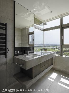 装修设计 装修完成 休闲多元 休闲饭店风 卫生间图片来自幸福空间在175,豪宅新定义 无价景观全开展的分享
