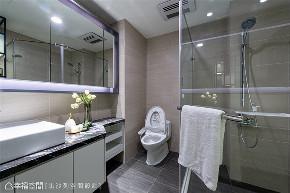 装修设计 装修完成 现代风格 卫生间图片来自幸福空间在132平, 朗阔大气品味宅的分享