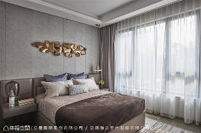 装修设计 装修完成 现代风格 卧室图片来自幸福空间在205平,微奢美学渲染一室高雅的分享