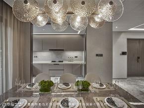 装修设计 装修完成 现代风格 厨房图片来自幸福空间在205平,微奢美学渲染一室高雅的分享