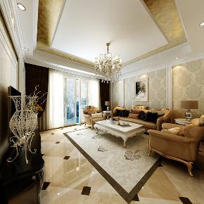 三居 欧式 客厅图片来自知贤整体家装在中信泰富·又一城的分享