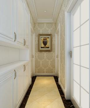 三居 欧式 玄关图片来自知贤整体家装在中信泰富·又一城的分享