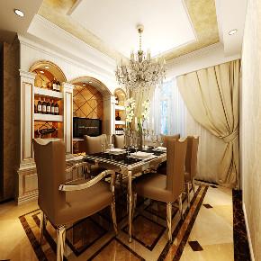 三居 欧式 餐厅图片来自知贤整体家装在中信泰富·又一城的分享