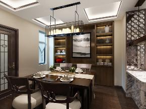 中式 复式 餐厅图片来自知贤整体家装在香溢璟庭复式的分享
