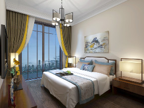 中式 复式 卧室图片来自知贤整体家装在香溢璟庭复式的分享