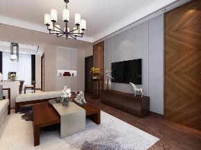 中式 四居 客厅图片来自知贤整体家装在禹州老城里的分享