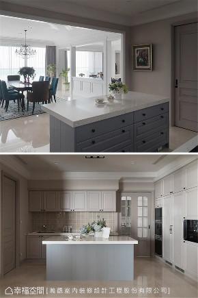 装修设计 装修完成 新古典 美式风格 厨房图片来自幸福空间在403平,藏美 优雅如你的分享