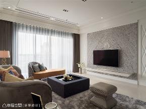 装修设计 装修完成 新古典 标准格局 客厅图片来自幸福空间在149平,高雅质韵 新古典微奢宅邸的分享