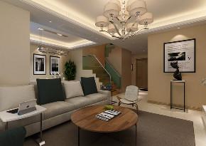 现代 复式 客厅图片来自知贤整体家装在香溢景庭的分享