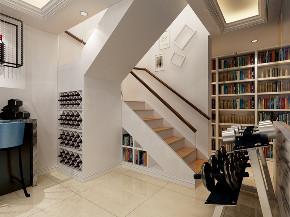 复式 欧式 楼梯图片来自知贤整体家装在保利星海屿的分享
