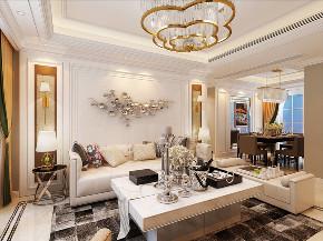 欧式 三居 客厅图片来自知贤整体家装在中环国际的分享