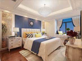 欧式 三居 卧室图片来自知贤整体家装在中环国际的分享