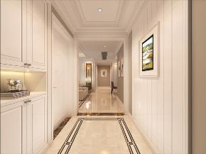 欧式 三居 玄关图片来自知贤整体家装在中环国际的分享
