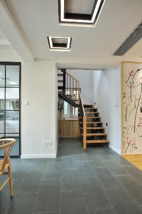 日式 复式 楼梯图片来自知贤整体家装在嘉宝梦之缘的分享