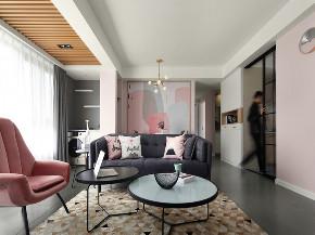 三居 北欧 客厅图片来自知贤整体家装在嘉宝紫提湾的分享