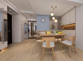 三居 北欧 餐厅图片来自知贤整体家装在安亭颂苑的分享