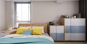三居 北欧 卧室图片来自知贤整体家装在安亭颂苑的分享