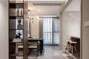 简约 厨房图片来自禾景大陈设计在中南御景城的分享