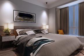 二居 北欧 卧室图片来自知贤整体家装在保利天鹅语的分享