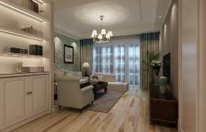 四居 简约美式 玄关图片来自知贤整体家装在森兰名轩的分享