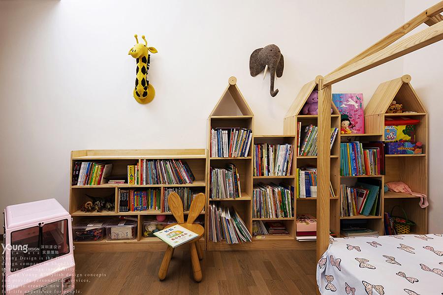 简约 白领 80后 小资 儿童房图片来自漾设计在Young新作|清雅的分享
