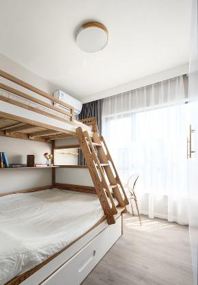 二居 北欧 卧室图片来自知贤整体家装在大拇指广场的分享
