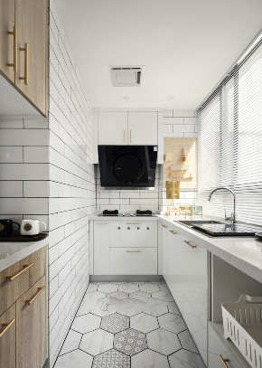 二居 北欧 厨房图片来自知贤整体家装在大拇指广场的分享