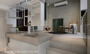 装修设计 装修完成 现代风格 厨房图片来自幸福空间在43平,机能与美学兼具的温馨宅的分享