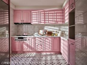 装修设计 装修完成 新古典 法式风格 厨房图片来自幸福空间在264平,华美缤纷的艺术殿堂的分享