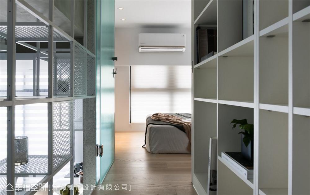 装修设计 装修完成 现代风格 卧室图片来自幸福空间在43平,机能与美学兼具的温馨宅的分享