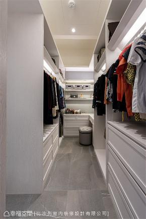 装修设计 装修完成 现代风格 衣帽间图片来自幸福空间在159平, 收藏家的现代风雅居的分享