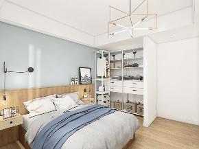 北欧 原木 卧室图片来自在8万北欧风情 让在家心旷神怡的分享