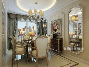 欧式 三居 餐厅图片来自在145平米欧式古典三室两厅的分享