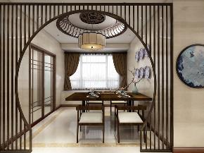简约 白领 餐厅图片来自在情调新中式 90平里的中国风的分享