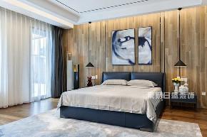 简约 别墅 卧室图片来自在江南山水-现代简约装修风的分享