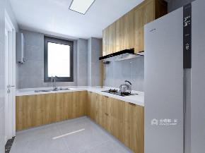 混搭 厨房图片来自在原木点缀灰白空间回归一丝本真的分享