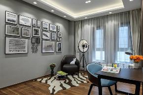 简约 别墅 书房图片来自在江南山水-现代简约装修风的分享