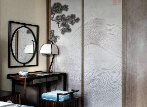 中式 客厅图片来自在99平新中式沉稳中带着时尚的分享