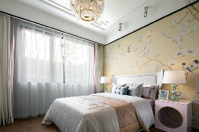 中式 卧室图片来自在99平新中式沉稳中带着时尚的分享