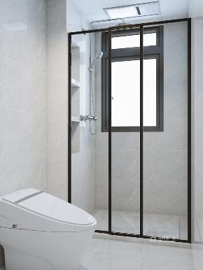 混搭 卫生间图片来自在原木点缀灰白空间回归一丝本真的分享
