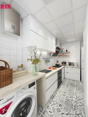 北欧 原木 厨房图片来自在8万北欧风情 让在家心旷神怡的分享