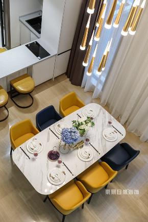简约 别墅 餐厅图片来自在江南山水-现代简约装修风的分享