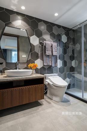 简约 别墅 卫生间图片来自在江南山水-现代简约装修风的分享