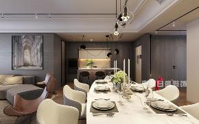 简约 三居 餐厅图片来自在三里屯SOHO-175平米-现代轻奢的分享