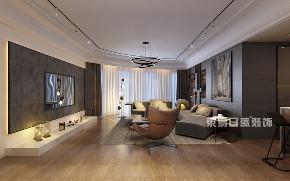 简约 三居 客厅图片来自在三里屯SOHO-175平米-现代轻奢的分享