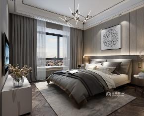 现代 卧室图片来自在160m²的现代生活家居体验的分享